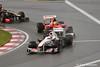 Massa behind Kobayashi