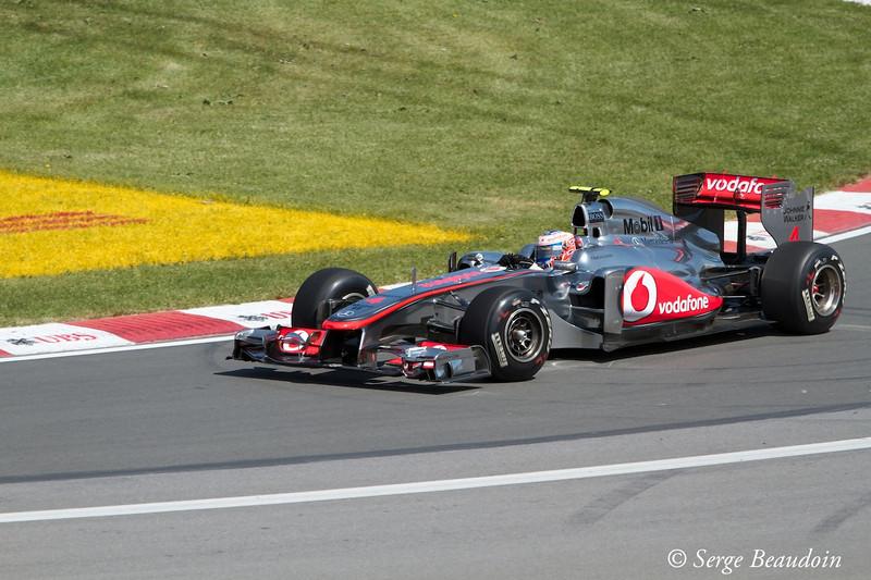 Jenson Button in P1
