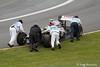 Maldonado never made it on track from pitlane