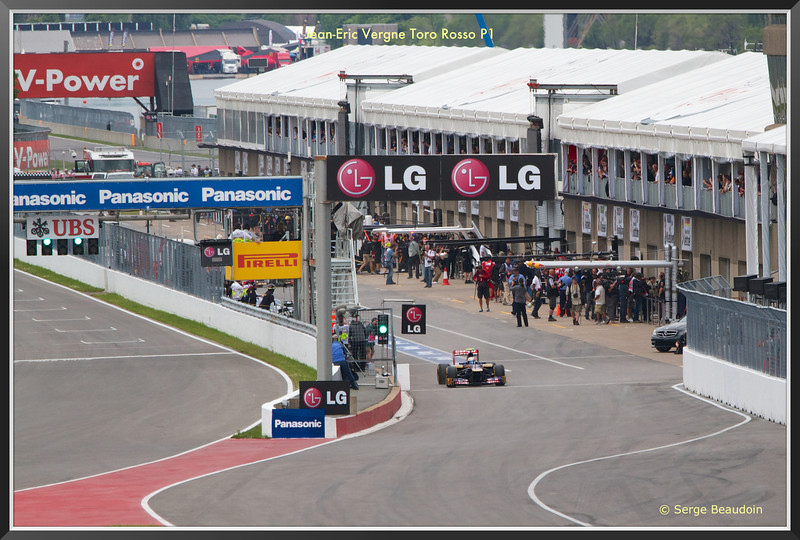 Jean-Eric Vergen - Toro Rosso premier sur la piste