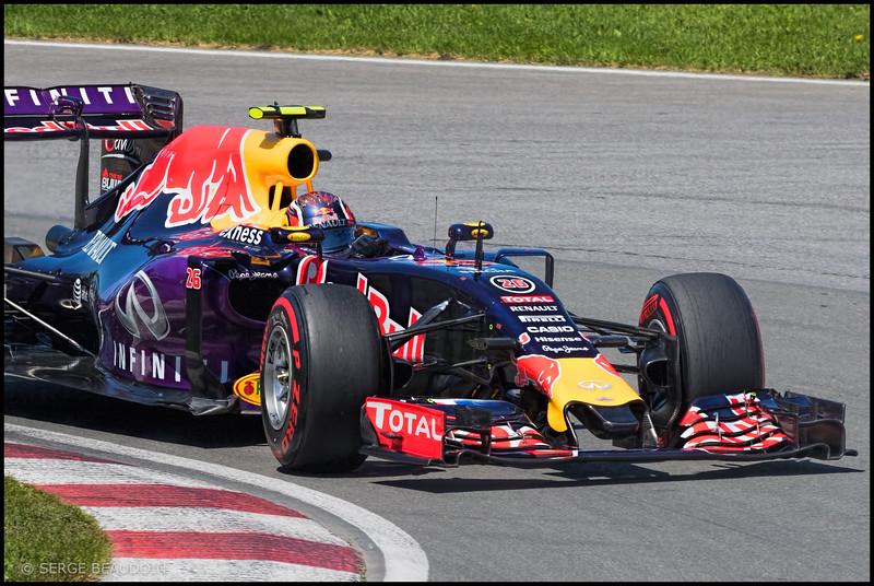 Daniil Kvyat - Infiniti Red Bull Racing