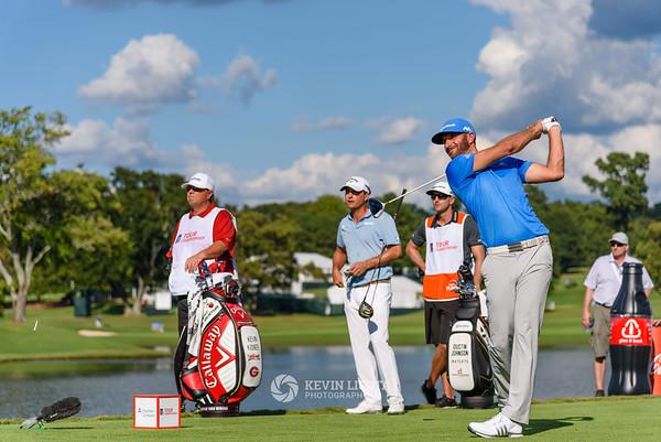 Dustin Johnson & Kevin Kisner - PGA Tour Championship 2016