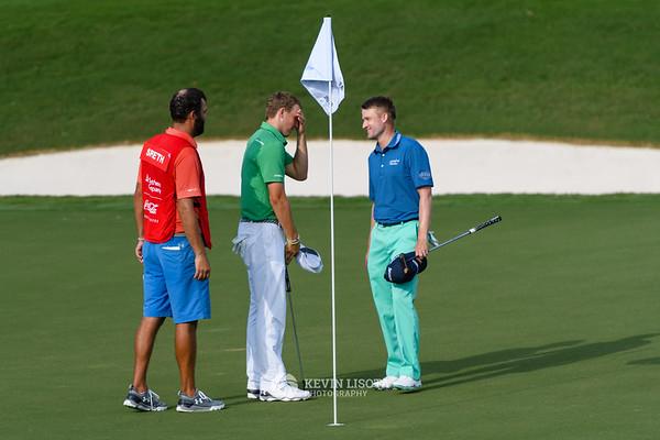 Jordan Spieth & Russell Knox - PGA Tour Championship 2016