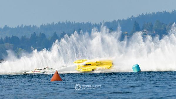 Grand Prix West Hydroplane Heat 1 - Seafair 2016