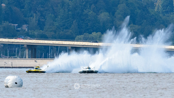 Grand Prix West Hydroplane Heat 1 - Seafair 2016