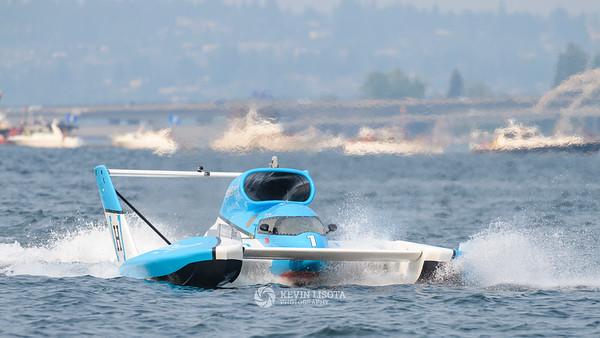 H1 Unlimited Hydroplane Final - Seafair 2017