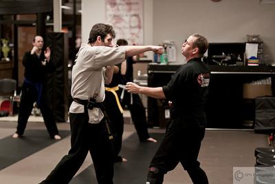 Kovar's Satori Academy adult class demonstration.