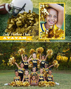 Avayah_Panther_Cheerleading Memory Mate