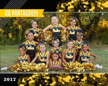 Pathers Cheerleading Team_8x10