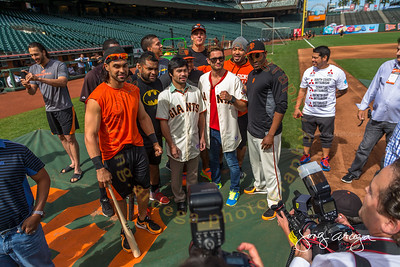 2014 Pacquiao-Algieri with the SF Giants
