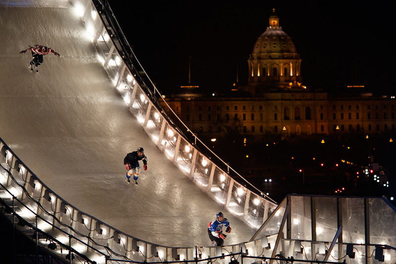 Red Bull Crashed Ice - St Paul Minnesota