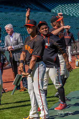 2014 SF Giants-Before the game