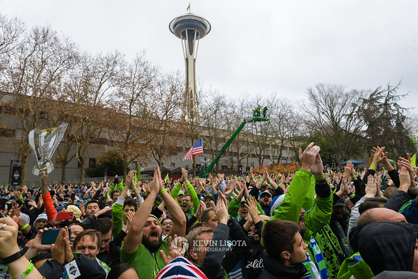 Sounders MLS Cup Rally