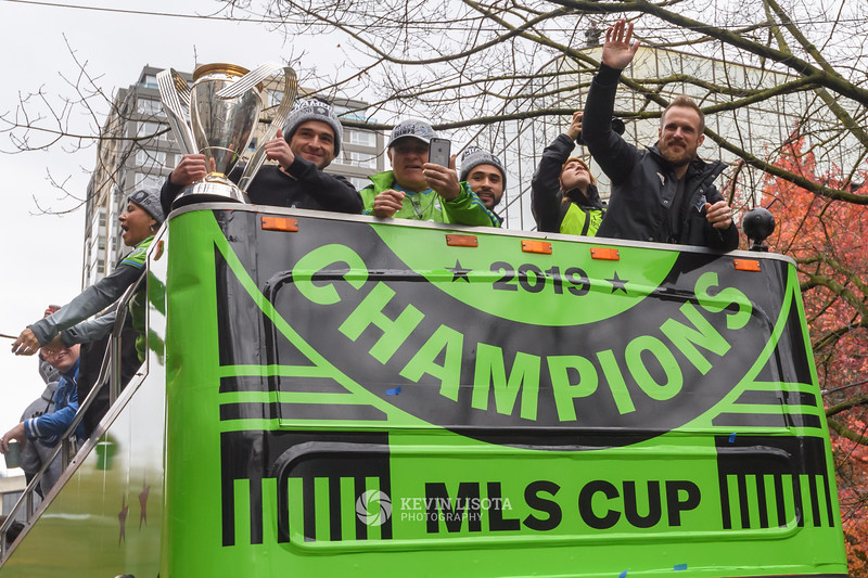 Sounders MLS Cup Parade