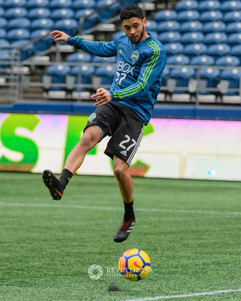 Lamar Neagle - Sounders Media Day 2018