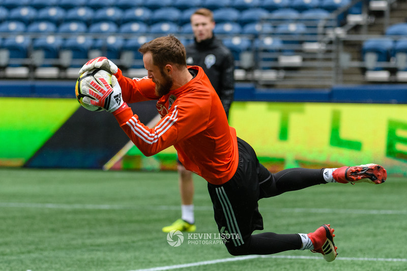 Stefan Frei - Sounders Media Day 2018
