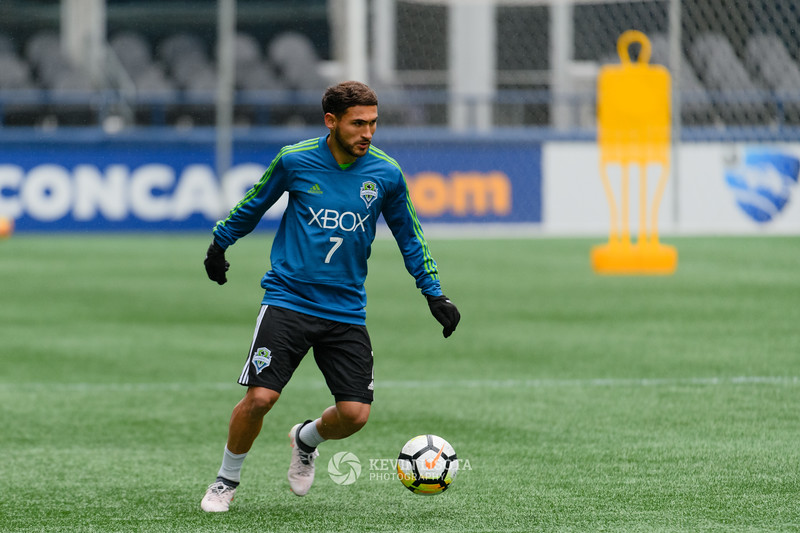 Cristian Roldan - Sounders Media Day 2018