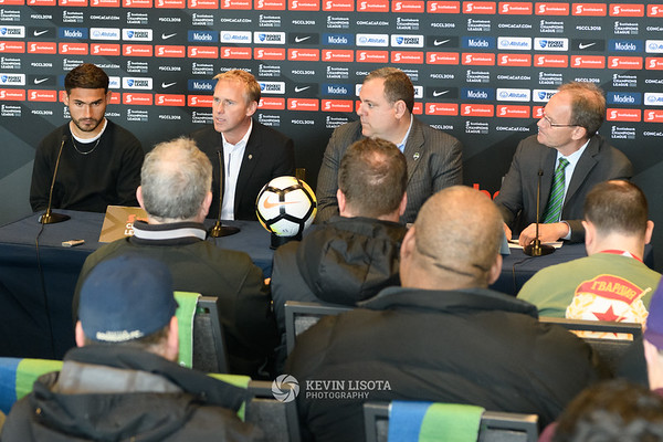 Sounders Media Day 2018 Press Conference
