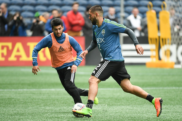 Sounders Training Session - Media Day - Clint Dempsey