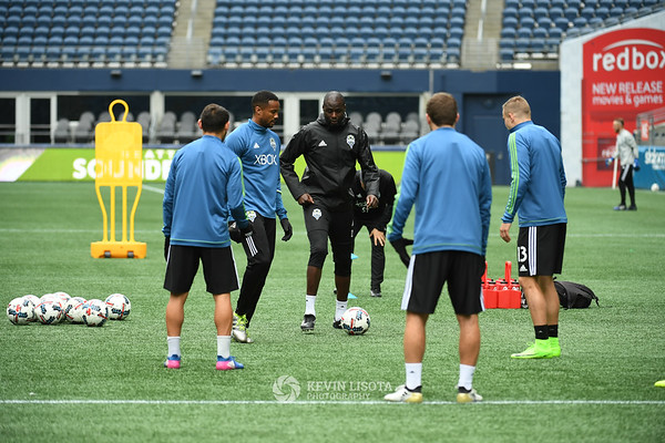 Sounders Training Session - Media Day