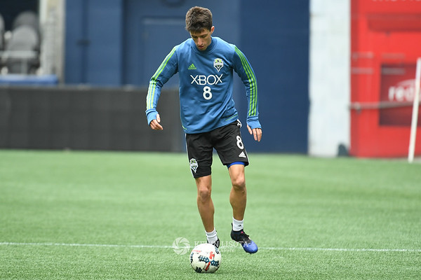 Sounders Training Session - Media Day - Alvaro Fernandez