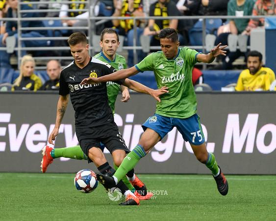 Seattle Sounders vs Borussia Dortmund - July 17, 2019