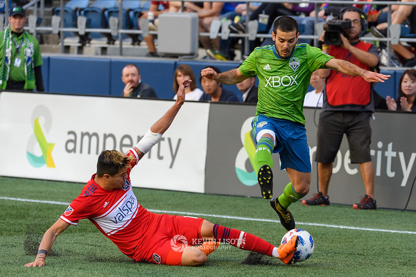 Sounders FC vs Chicago Fire - June 23, 2018