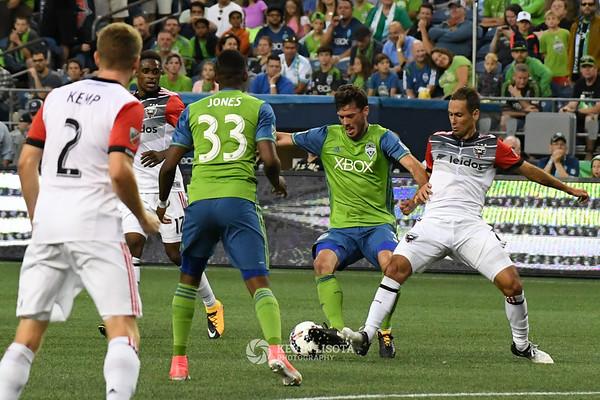 Sounders FC vs DC United - July 19, 2017