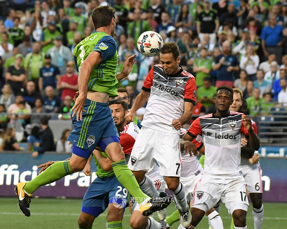 Sounders FC vs DC United - July 19, 2017