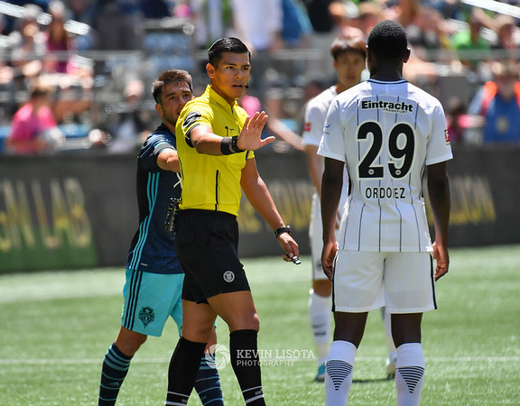 Sounders FC vs Eintracht Frankfurt - July 8, 2017