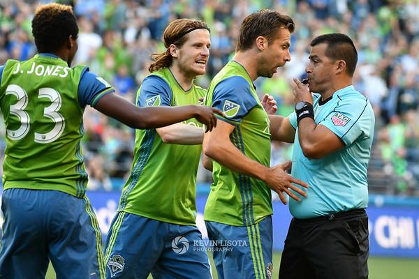 Seattle Sounders vs FC Dallas - Jul 13 2016