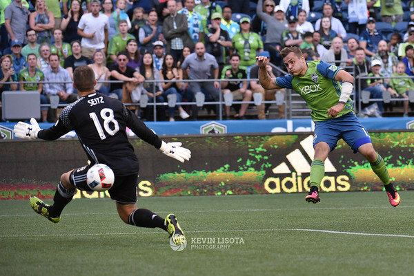 Seattle Sounders vs FC Dallas - July 13, 2016