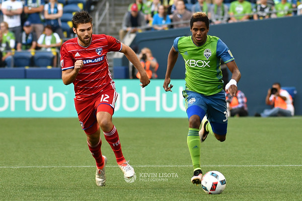 Seattle Sounders vs FC Dallas - July 13, 2016