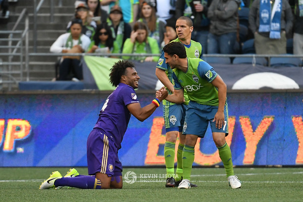 Seattle Sounders vs Orlando City FC - June 21, 2017