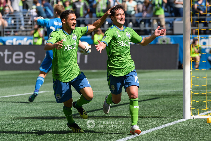 Sounders FC vs Sporting Kansas City - Sept 1, 2018