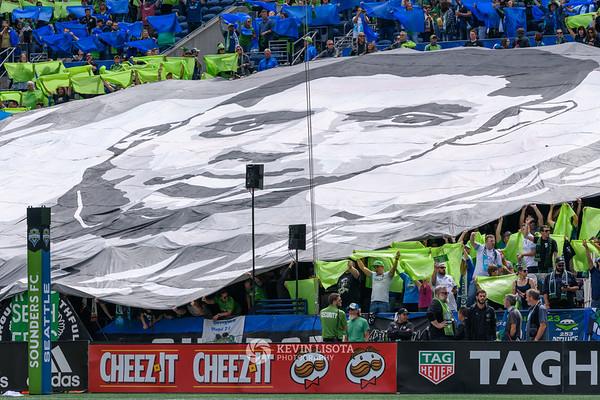 Sounders FC vs Sporting Kansas City - Sept 1, 2018
