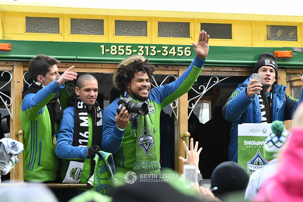Sounders MLS Cup March and Rally