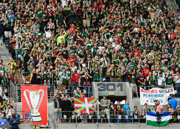 Seattle Sounders FC vs Portland Timbers - Aug 21, 2016