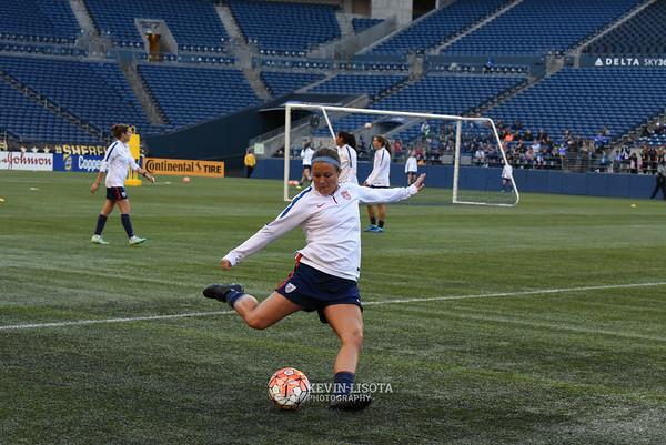 US Women's National Team Training Session