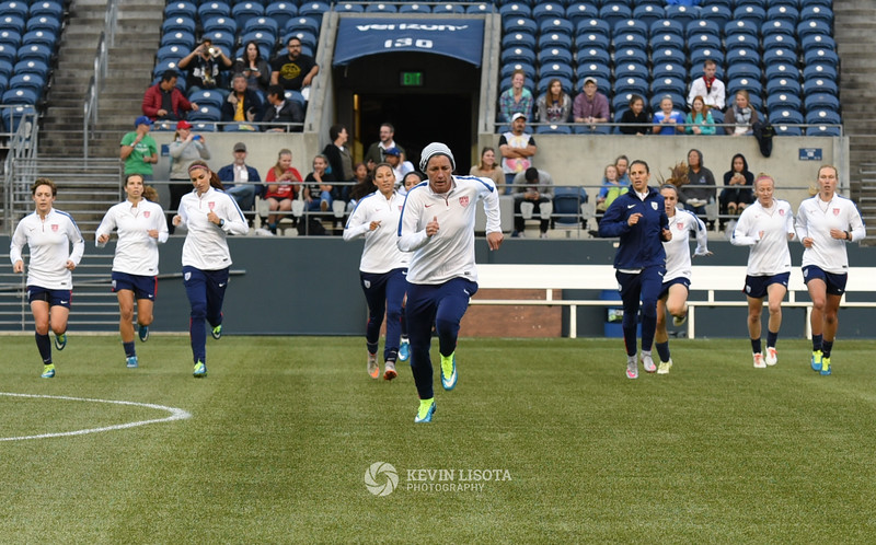 US Women's National Team Training Session