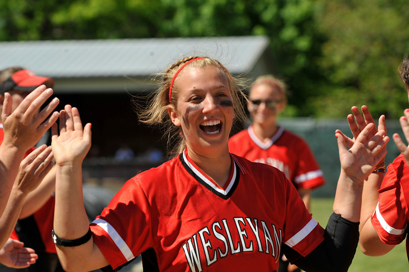 Wesleyan University Cardinals Softball Team