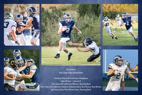 Jay Jetmore Football Collage
