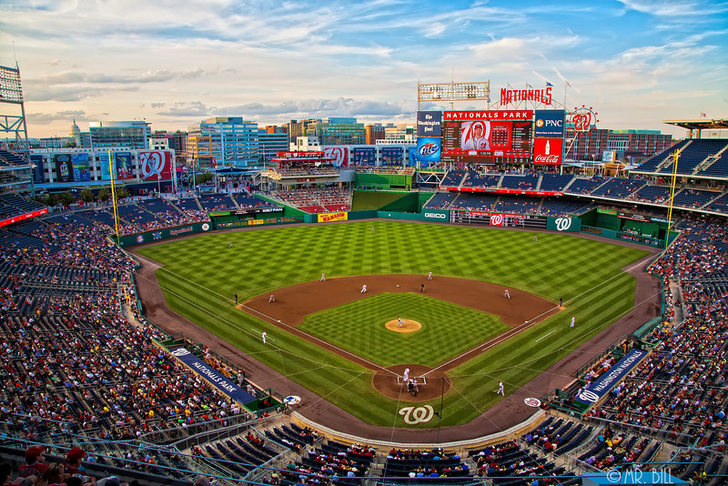 National Park home of the Washington Nationals baseball team