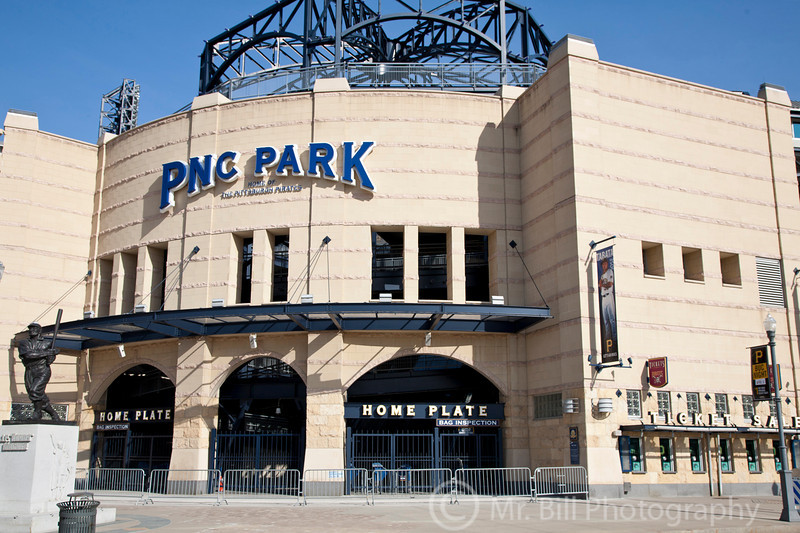 PNC Park, home of the Pittsburgh Pirates<br /> Pittsburgh March 2011