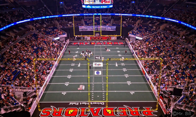 Orlando Predators vs. Pittsburgh Power @ Amway Center in Orlando, FL