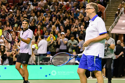 Bill Gates & Roger Federer - Match for Africa