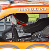 Joey Logano interior of car before NASCAR AAA Texas 500 @ Texas Motor Speedway