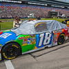 Kyle Busch (he did not race) car before NASCAR AAA Texas 500 @ Texas Motor Speedway