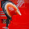 Crew member helmet resting on jack in Joey Logano's pit NASCAR AAA Texas 500 @ Texas Motor Speedway