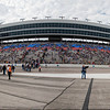 Panorama of Texas Motor Speedway. Taken from pit area